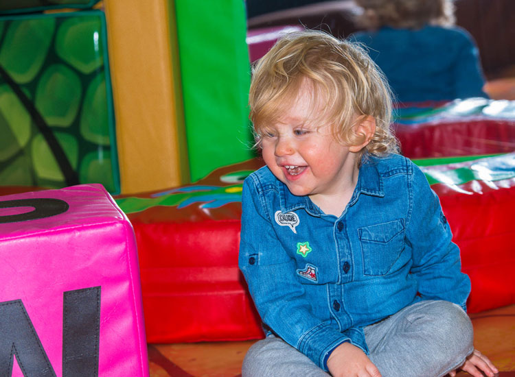 Toddlers at Dino Soft Play