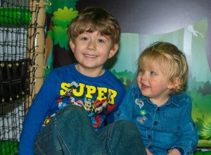 Kids fun at Dino Soft Play
