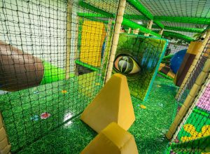 Inside Dino Soft Play