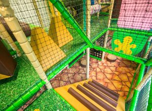 Dino Soft Play Steps