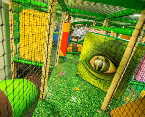 Dino Soft Play Netting