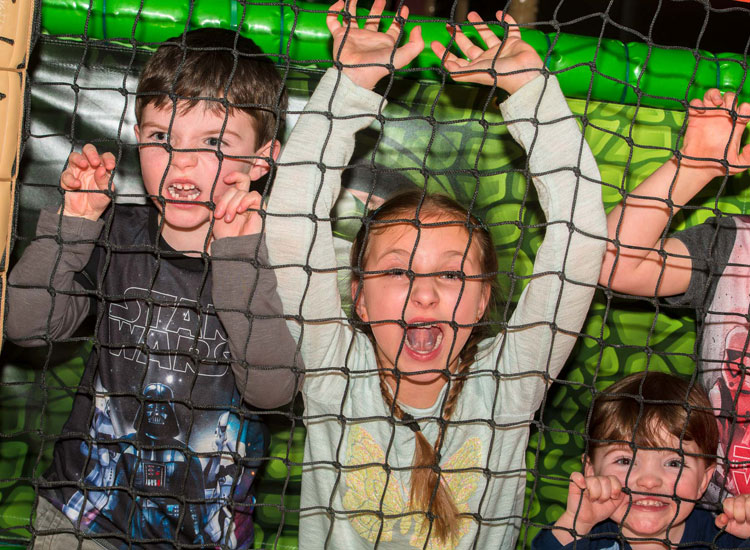 Roarring fun at Dino Soft Play